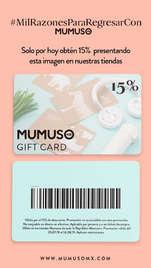 Mumuso Gift Card