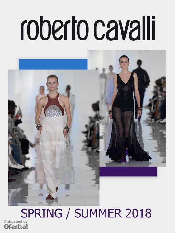 Ofertas de Roberto Cavalli, Spring Summer