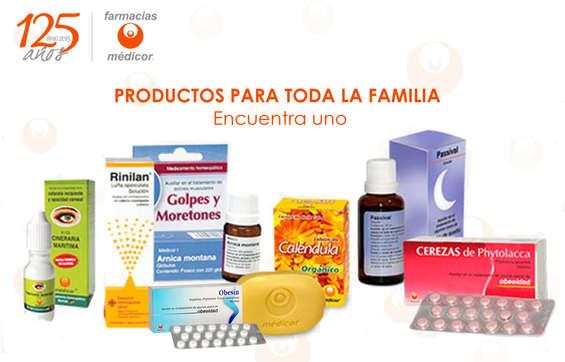Ofertas de Farmacias Médicor, Productos