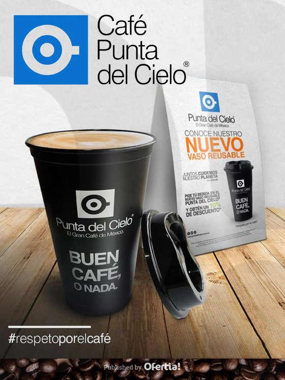 Ofertas de Café Punta del Cielo, Nuevo Vaso Reusable