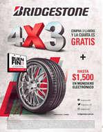 Ofertas de Bridgestone, Buen Fin 4x3