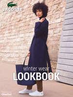 Ofertas de Lacoste, Lookbook winter