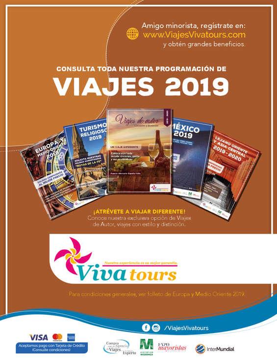 Ofertas de Viva Tours, Salidas Especiales 2019