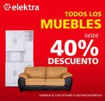 Ofertas de Elektra, 40% de descuento