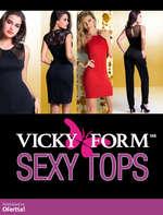 Ofertas de Vicky Form, Vicky Form Invierno Sexy Tops