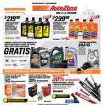 Ofertas de AutoZone, Promociones octubre