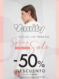 Spring Sale 50% de descuento