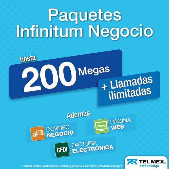 Ofertas de Telmex, Paquetes de negocio