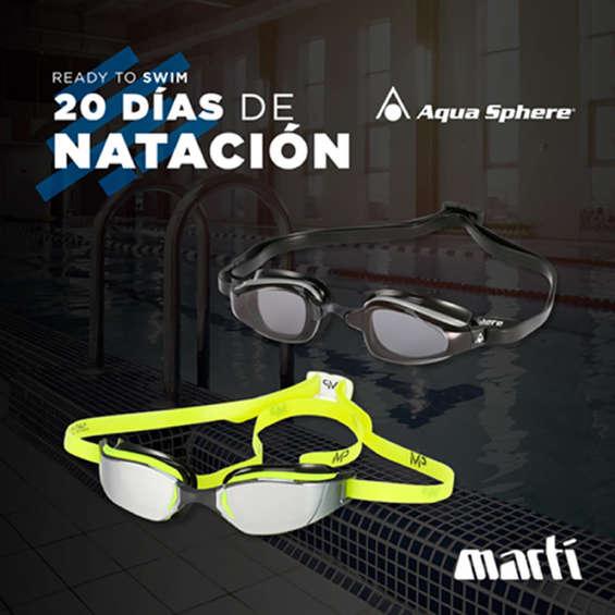 Ofertas de Marti, 20 días de natación