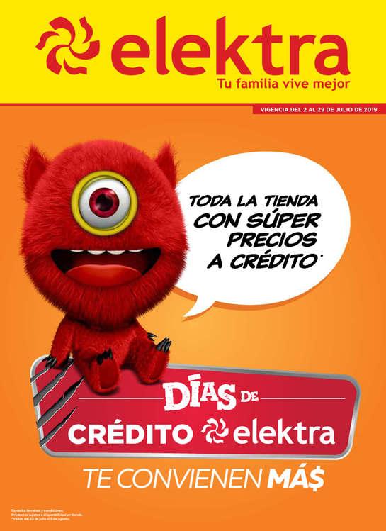 Ofertas de Elektra, Días de crédito elektra