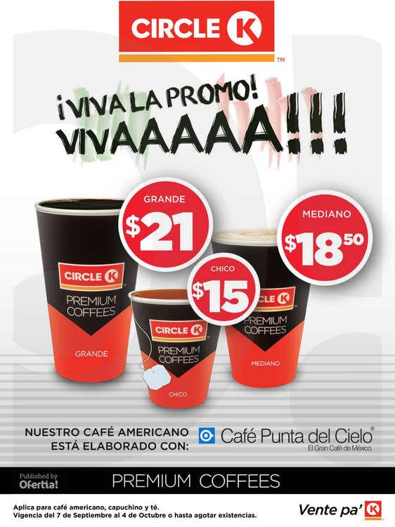 Ofertas de Circle K, Promociones Cancún