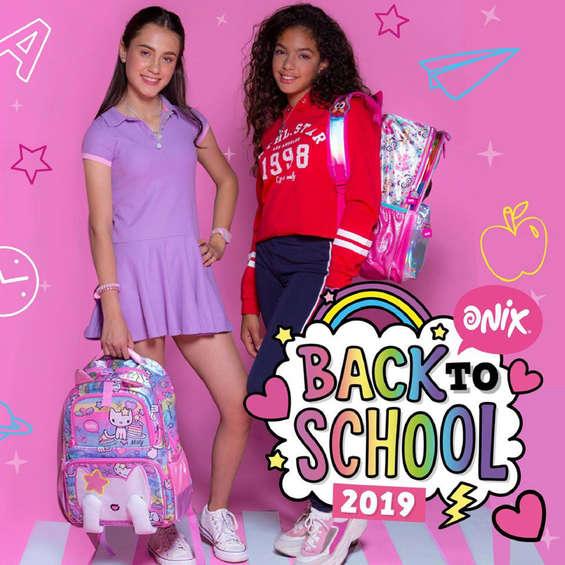 Ofertas de Onix, Back to school