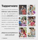 Ofertas de Tupperware, Catálogo de experiencias