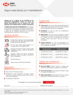 Ofertas de HSBC, Seguro por hospitalización