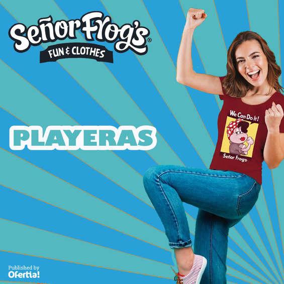 Ofertas de Señor Frog's, Playeras
