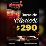 Ofertas de Shakey's Pizza, Jarra de Clericot