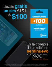 Llévate gratis un sim AT&T