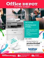 Ofertas de Office Depot, Multifuncional Led a Color