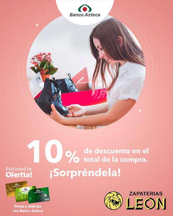 Ofertas de Banco Azteca, 10% de descuento