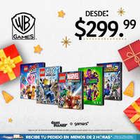 Promo Juegos Warner