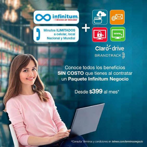 Ofertas de Telmex, Paquete Infinitum Negocio