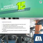 Ofertas de Marti, Descuento aparatos de ejercicio