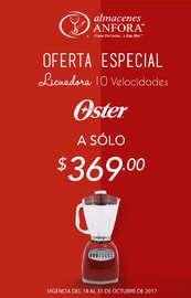 Oferta Especial en licuadora Oster