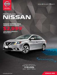 Festeja con Nissan Sentra