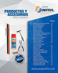 Productos y accesorios para el soldador