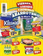 Ofertas de S-Mart, Viernes, sábado y domingo abarrotero- Díptico Solidaridad