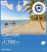 Ofertas de Aeromexico, Cancún