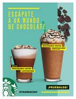 Ofertas de Starbucks, Escápate a un mundo de chocolate