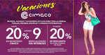 Ofertas de Cimaco, 20% de descuento