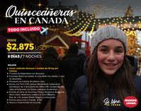 Quinceañeras en Canadá