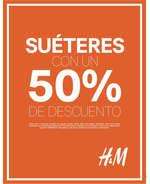 Ofertas de H&M, Suéteres 50% de descuento