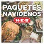 Ofertas de H-E-B, Catálogo 2019 Paquetes Navideños