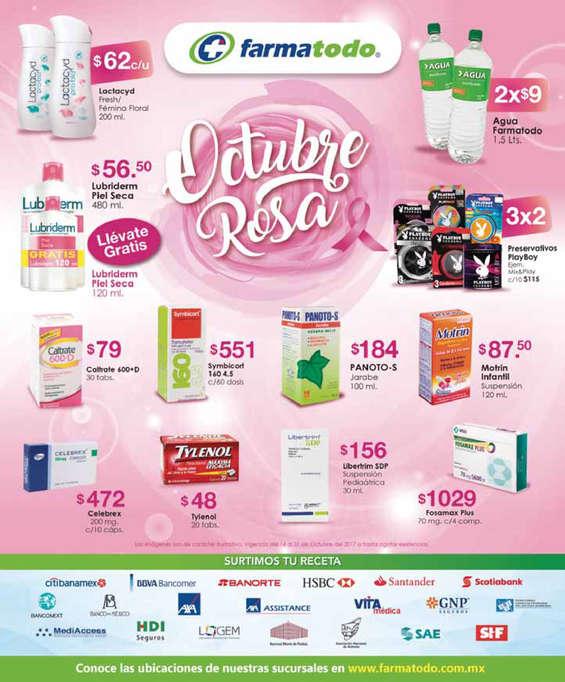 Ofertas de Farmatodo, Octubre Rosa