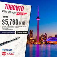 Toronto desde $5,760