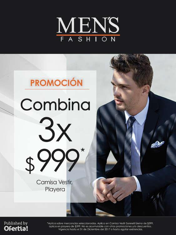 Ofertas de Men's Fashion, Combina 3 x $999.00