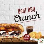 Ofertas de Quiznos Sub, Beef BBQ Crunch