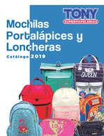 Ofertas de Tony Super Papelerías, mochilas 2019