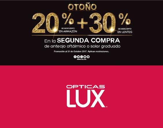 Ofertas de Lux, 20%+30% de descuento