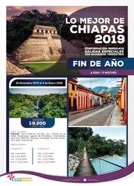 Lo mejor de Chiapas 2019