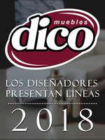 Ofertas de MUEBLERÍAS DICO, Los Diseñadores Presentan Líneas 2018