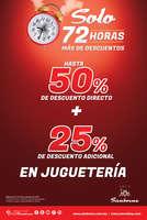 Ofertas de Sanborns, Solo 72 Horas Más de descuentos
