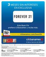 Ofertas de Citibanamex, Meses Sin intereses en el Buen Fin