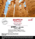 Ofertas de Excel Tours, Egipto