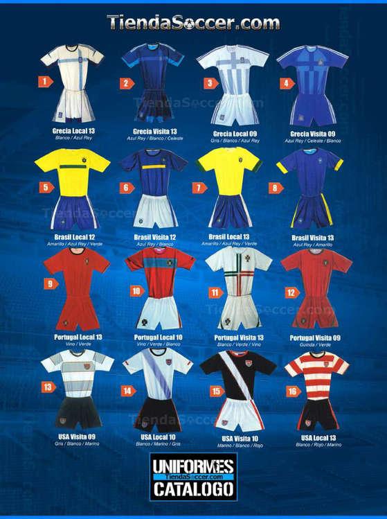 Ofertas de Tienda Soccer, Uniformes Catálogo
