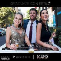 Gradúate con estilo Liz Minelli x Men's Fashion