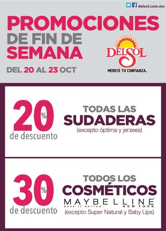 Ofertas de Del Sol, Promociones de Fin de Semana